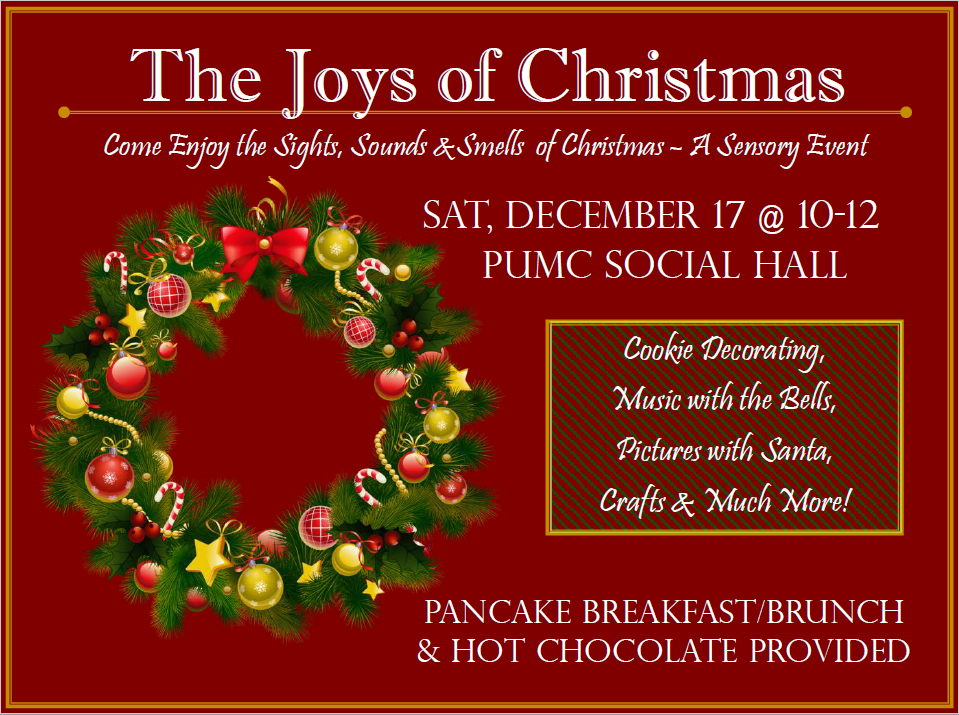 The Joys Of Christmas.Join Us For The Joys Of Christmas Providence United